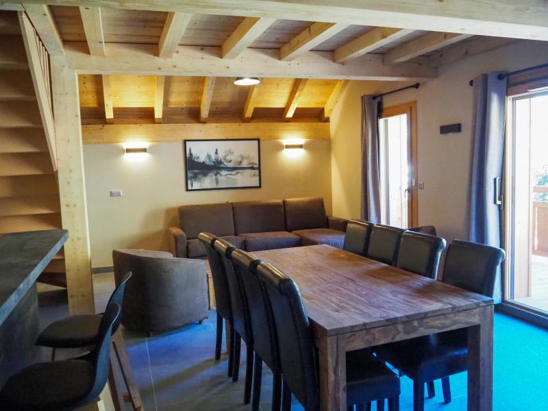 Location au ski Appartement 4 pièces 8 personnes - La Résidence - Les 2 Alpes - Table