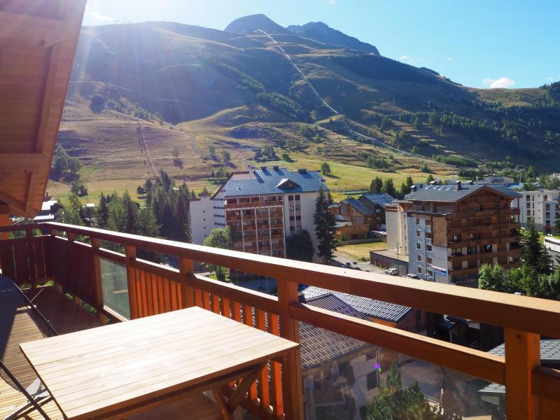Location au ski Appartement duplex 5 pièces cabine 10 personnes - La Résidence - Les 2 Alpes - Balcon