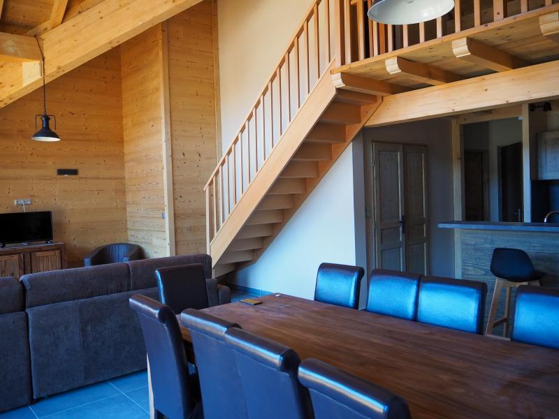 Location au ski Appartement duplex 5 pièces cabine 10 personnes - La Résidence - Les 2 Alpes - Table