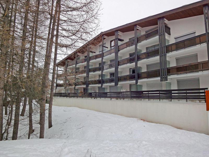 Holiday in mountain resort 1 room apartment 4 people (1) - Le Prapelier - Les 2 Alpes - Winter outside