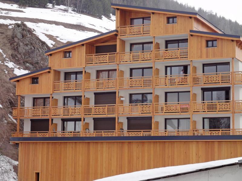 Vakantie in de bergen Appartement 1 kamers 4 personen (4) - Le Super Venosc - Les 2 Alpes - Buiten winter