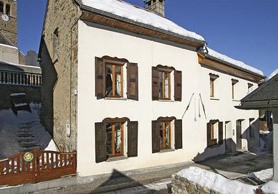 Location au ski Maison Montagnarde Les Copains - Les 2 Alpes - Extérieur hiver