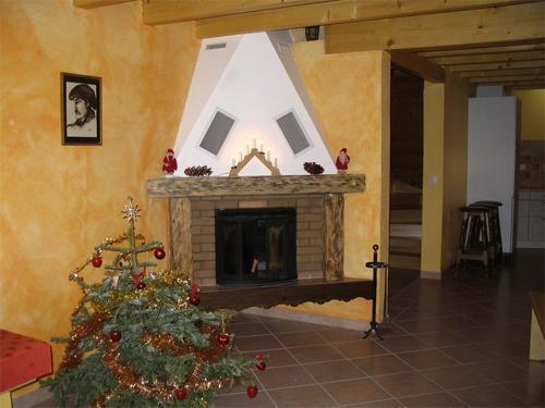 Location au ski Maison 6 pièces 12 personnes - Maison Montagnarde Les Copains - Les 2 Alpes - Cheminée