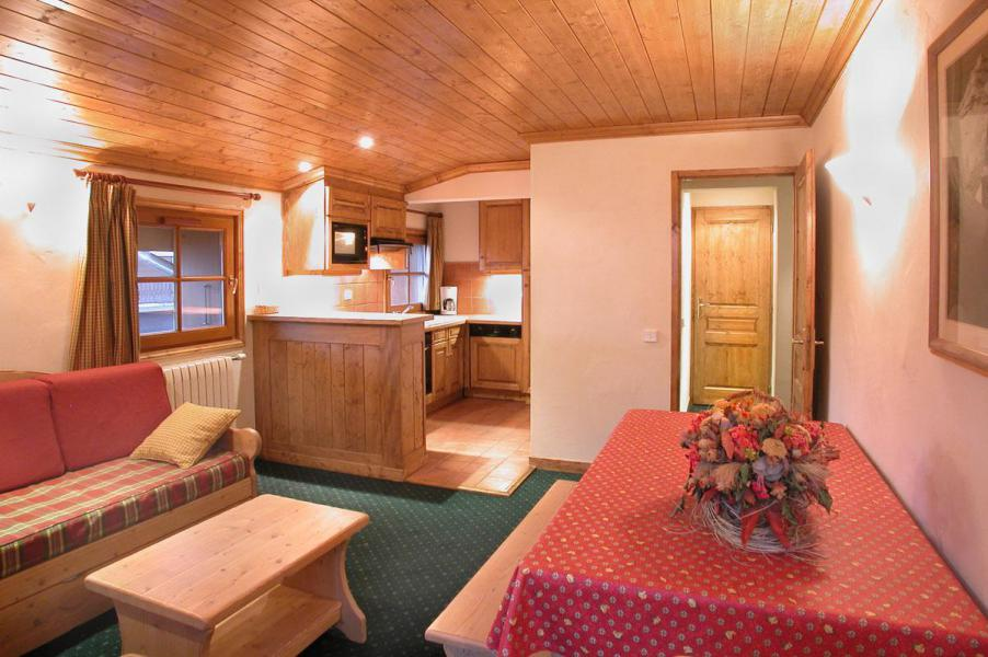 Location au ski Appartement 3 pièces cabine 8 personnes - Résidence Alpina Lodge - Les 2 Alpes - Séjour