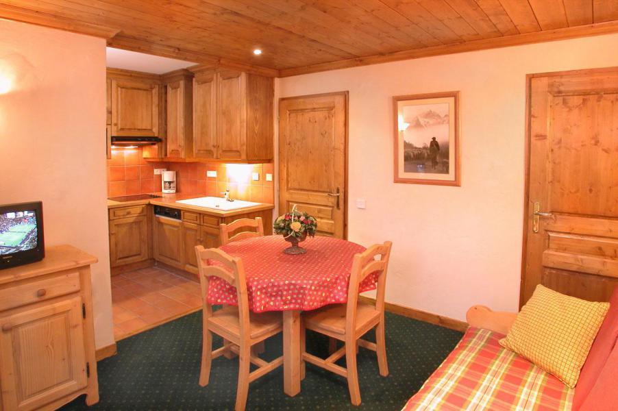 Location au ski Studio coin montagne 4 personnes - Résidence Alpina Lodge - Les 2 Alpes - Séjour