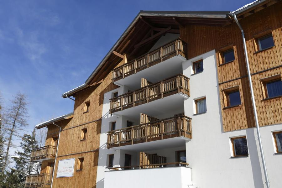 Location au ski Résidence Au Coeur des Ours - Les 2 Alpes - Extérieur hiver