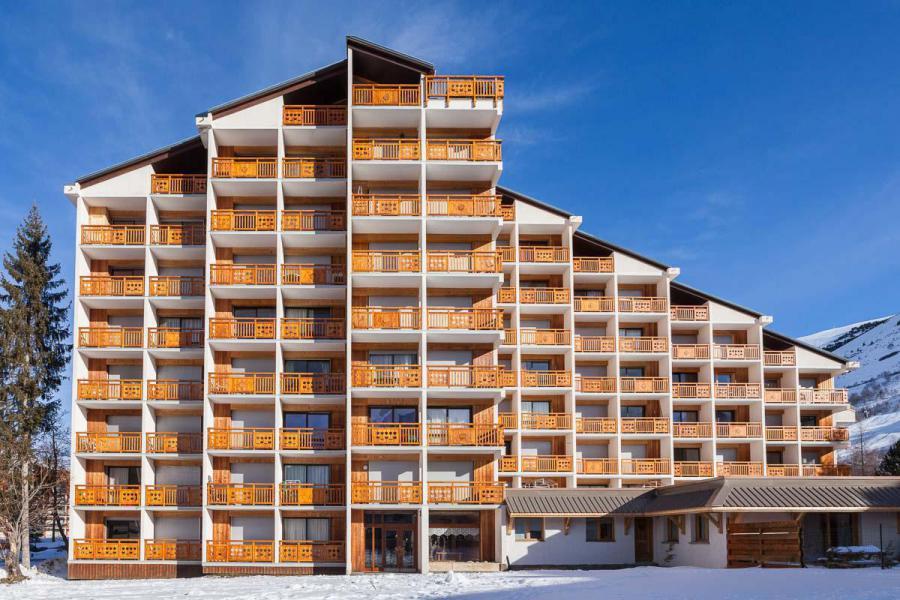 Vakantie in de bergen Résidence Cabourg - Les 2 Alpes - Buiten winter