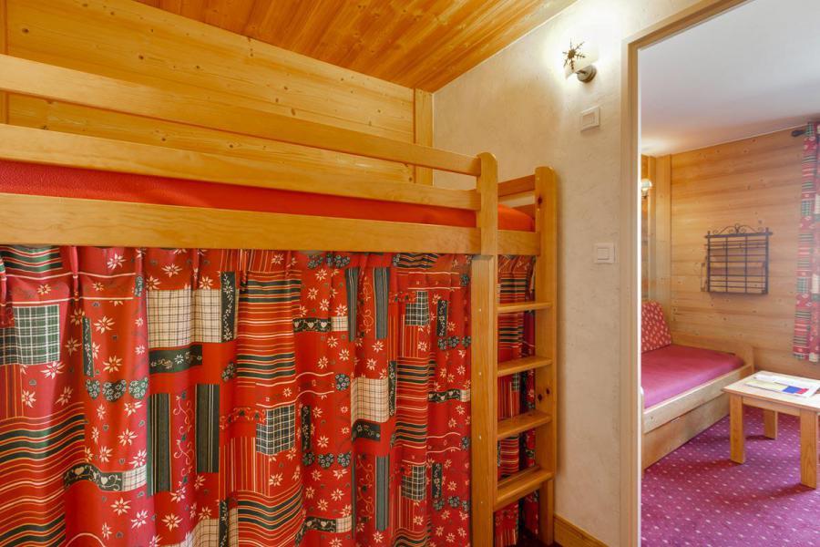 Location au ski Studio coin montagne 3 personnes - Résidence Champamé - Les 2 Alpes - Lit mezzanine simple