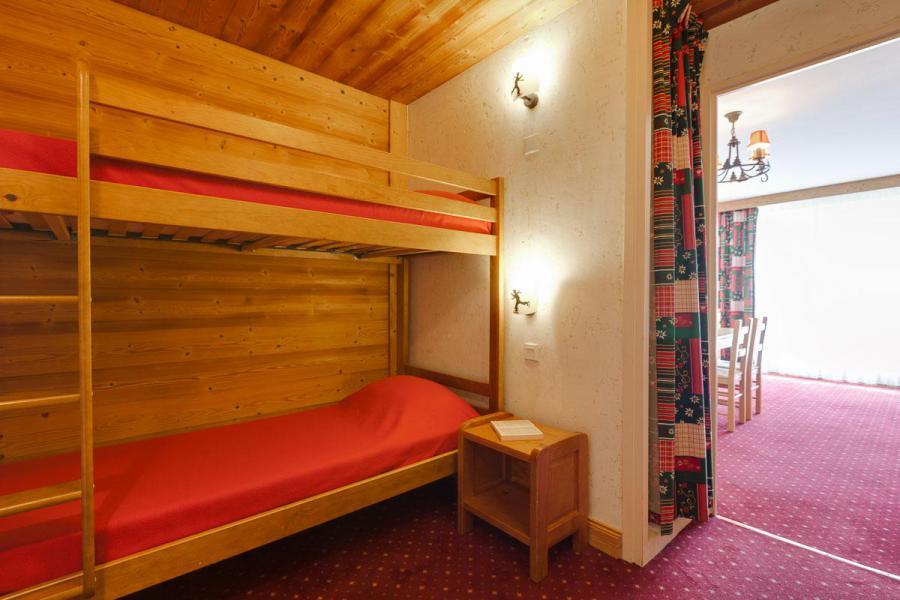 Location au ski Studio coin montagne 4 personnes - Résidence Champamé - Les 2 Alpes - Lits superposés