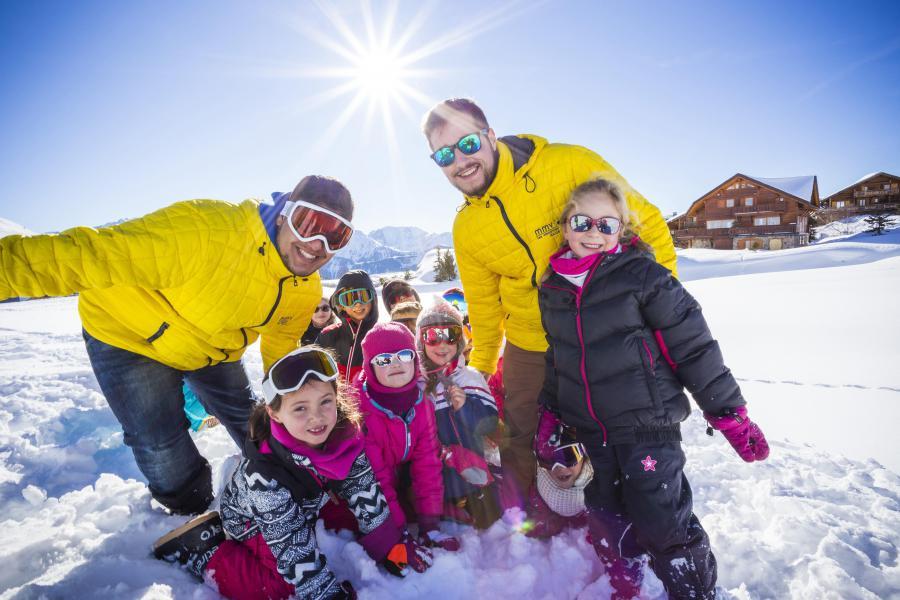 Location au ski Résidence Club MMV les Clarines - Les 2 Alpes - Extérieur hiver