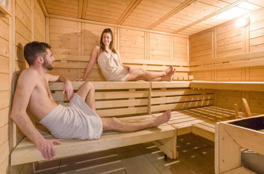 Location au ski Résidence Club MMV les Clarines - Les 2 Alpes - Sauna