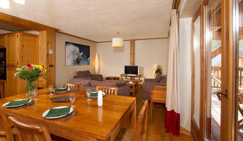 Location au ski Résidence Cortina - Les 2 Alpes - Séjour