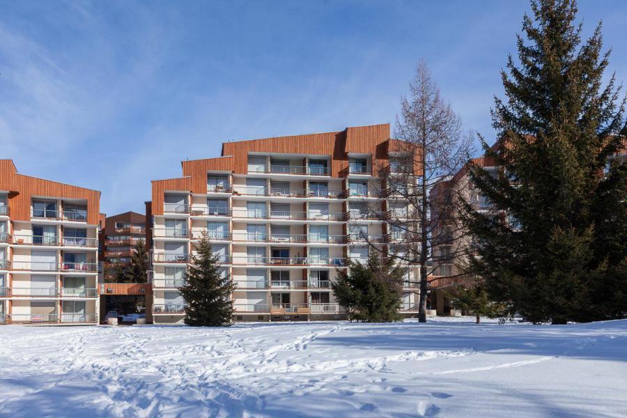 Location au ski Résidence Côte Brune 4 - Les 2 Alpes - Extérieur hiver