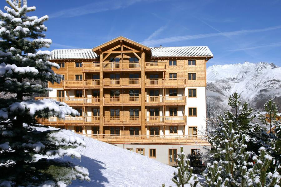 Vakantie in de bergen Résidence l'Alba - Les 2 Alpes - Buiten winter
