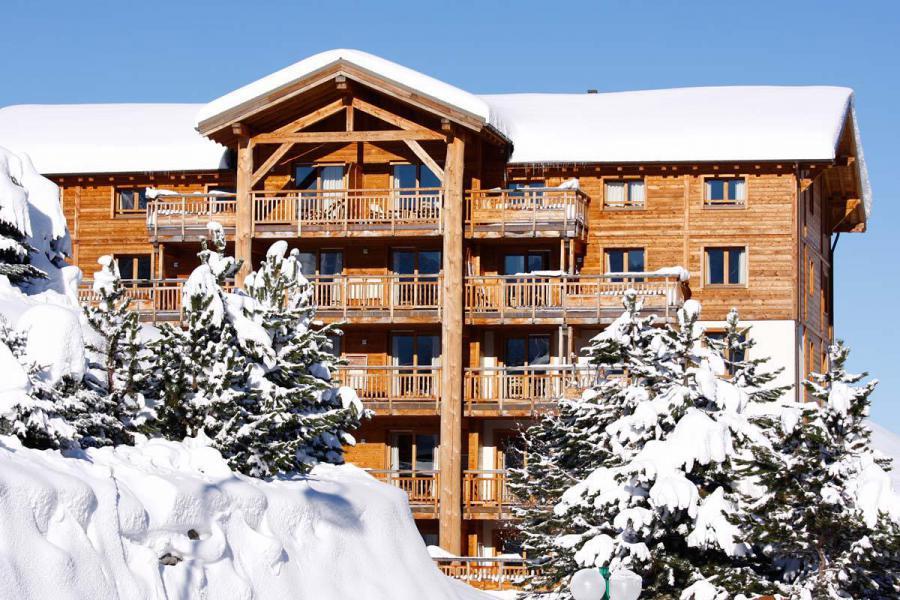 Urlaub in den Bergen Résidence l'Alba - Les 2 Alpes - Draußen im Winter