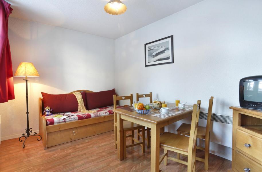 Location au ski Résidence l'Edelweiss - Les 2 Alpes - Banquette-lit tiroir