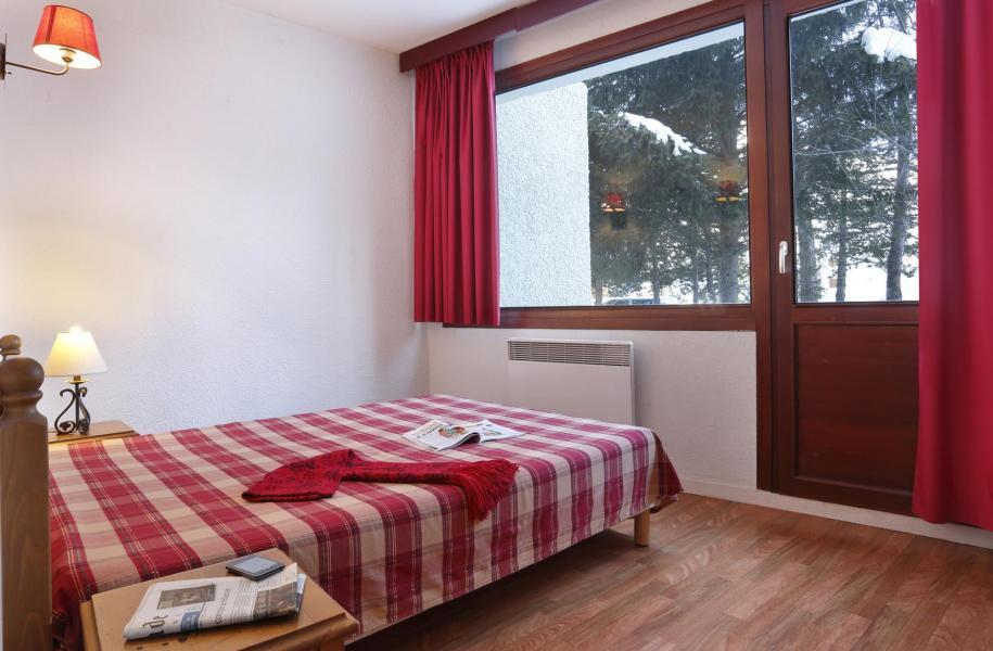 Wynajem na narty Résidence l'Edelweiss - Les 2 Alpes - Łóżkem małżeńskim
