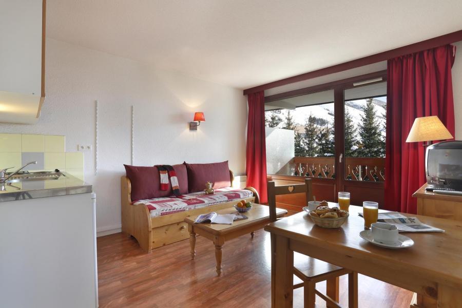 Location au ski Résidence l'Edelweiss - Les 2 Alpes - Séjour