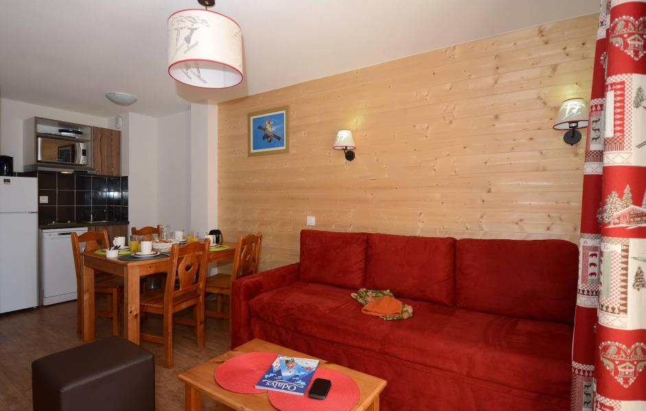 Location au ski Residence L'ours Blanc - Les 2 Alpes - Canapé