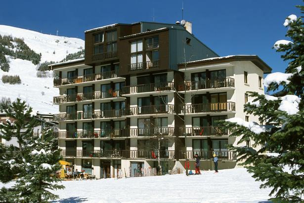Location au ski Résidence Lauvitel - Les 2 Alpes - Extérieur hiver