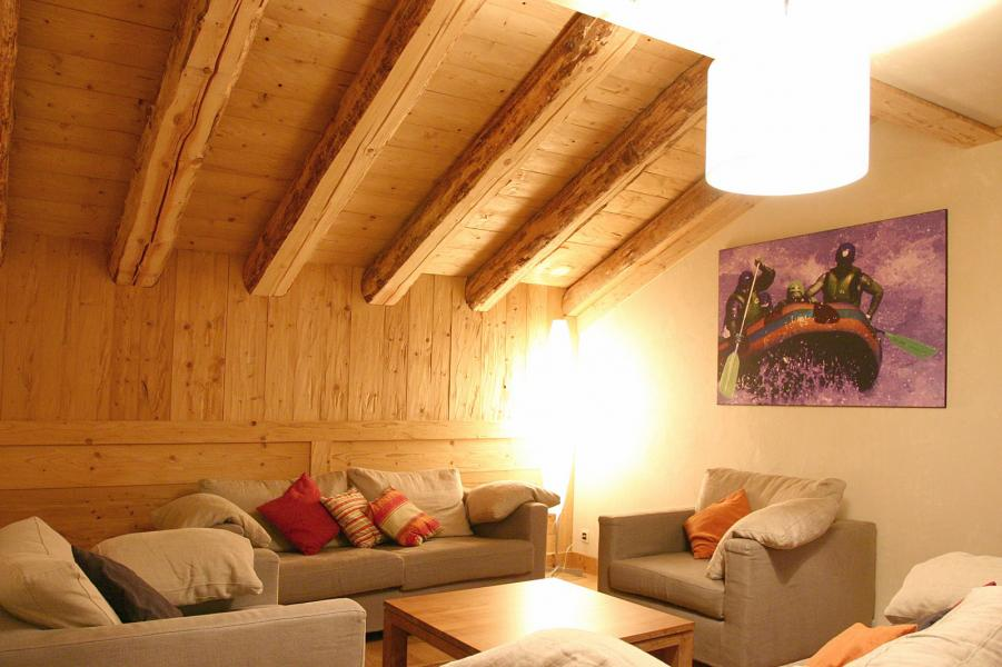 Location au ski Résidence le Cortina - Les 2 Alpes - Canapé