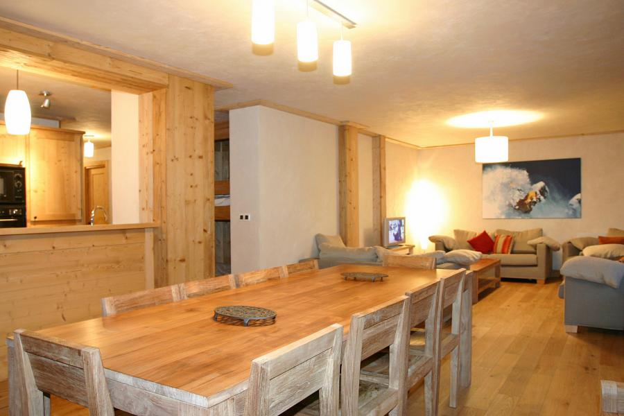 Location au ski Résidence le Cortina - Les 2 Alpes - Salle à manger