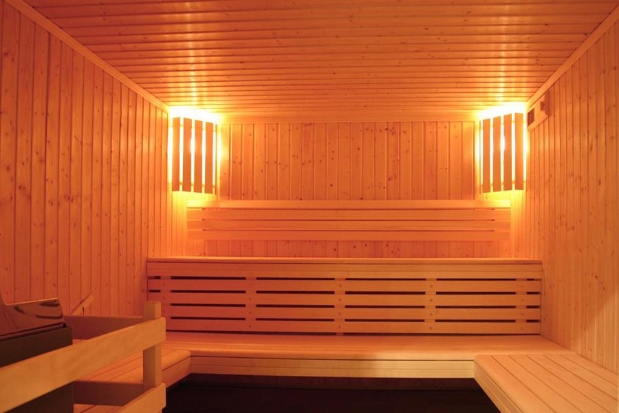Location au ski Résidence le Cortina - Les 2 Alpes - Sauna