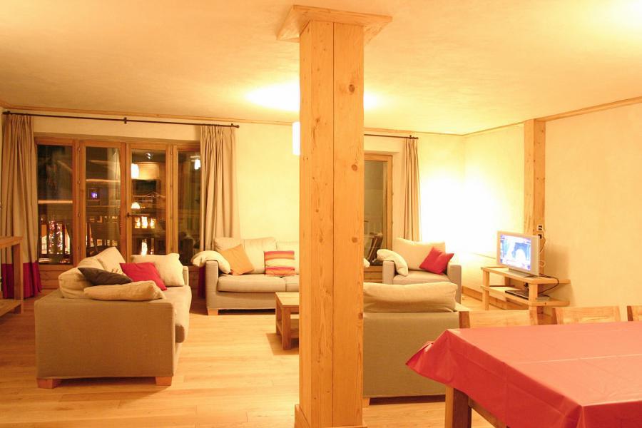 Location au ski Résidence le Cortina - Les 2 Alpes - Séjour