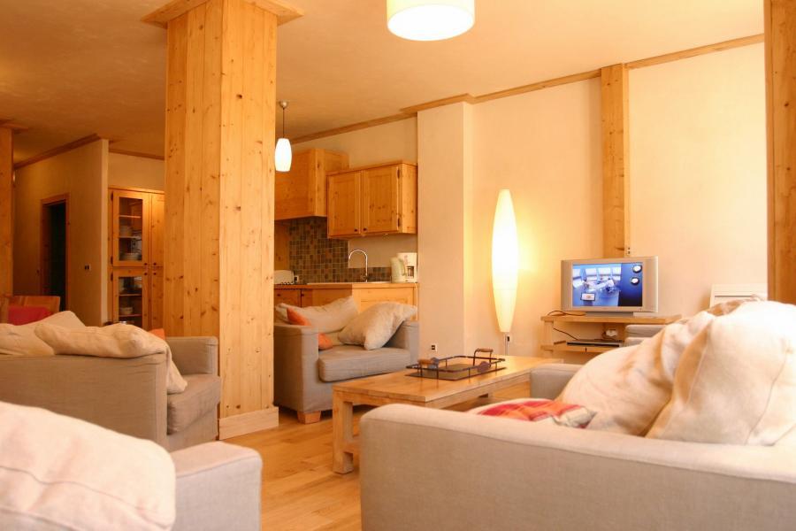 Location au ski Résidence le Cortina - Les 2 Alpes - Tv