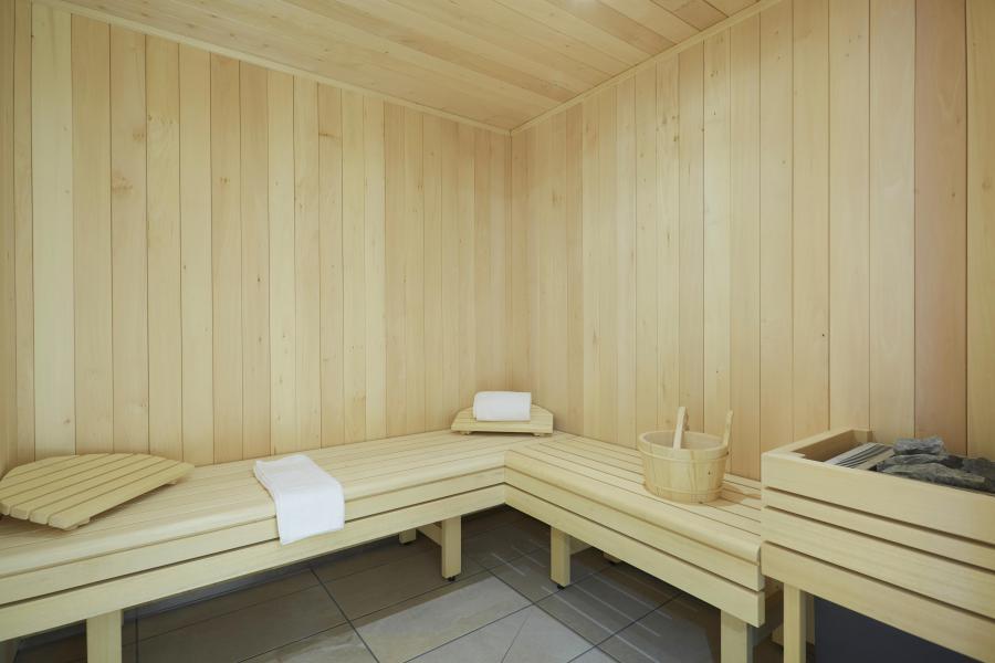 Location au ski Résidence Le Hameau - Les 2 Alpes - Sauna