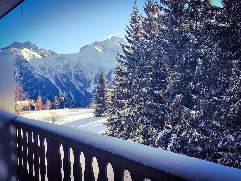 Wakacje w górach Studio z alkową 4 osoby (174) - Résidence le Midi - Les 2 Alpes - Zima na zewnątrz