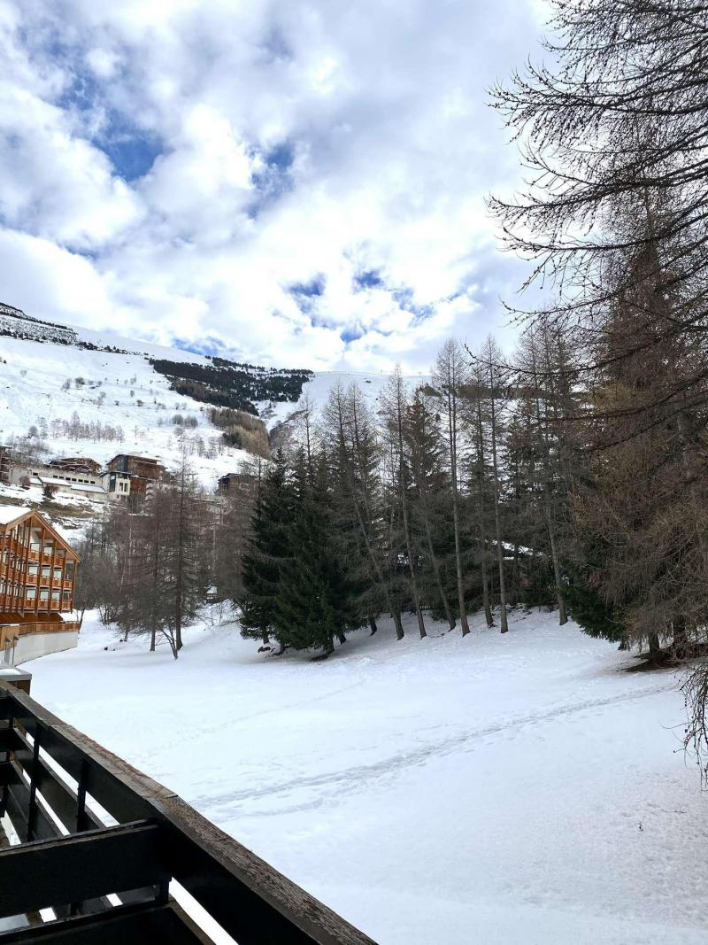 Location au ski Logement 1 pièces 5 personnes (430) - Résidence le Prapelier - Les 2 Alpes - Extérieur hiver