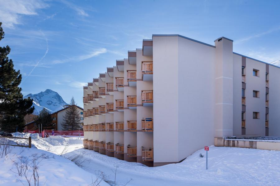 Location au ski Résidence le Sappey - Les 2 Alpes - Extérieur hiver