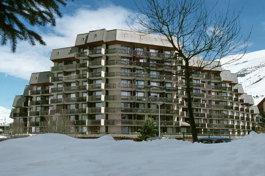 Location au ski Résidence Meijotel - Les 2 Alpes - Extérieur hiver
