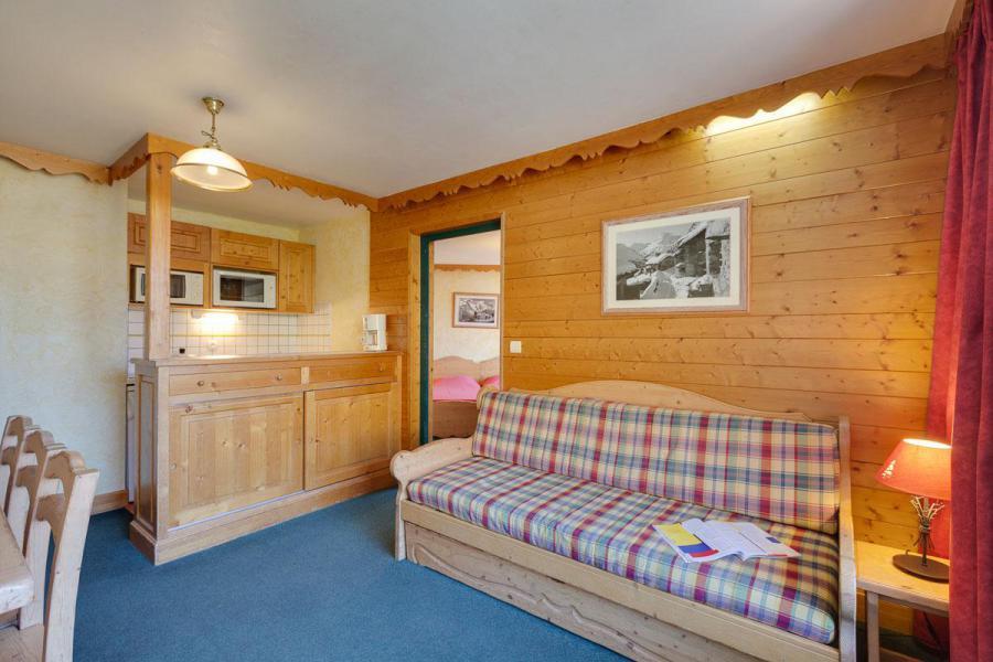 Location au ski Appartement duplex 2 pièces coin montagne 6 personnes - Résidence Meijotel - Les 2 Alpes - Canapé-gigogne