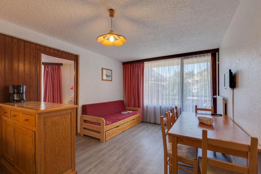 Location au ski Appartement duplex 2 pièces coin montagne 6 personnes - Résidence Meijotel - Les 2 Alpes - Séjour