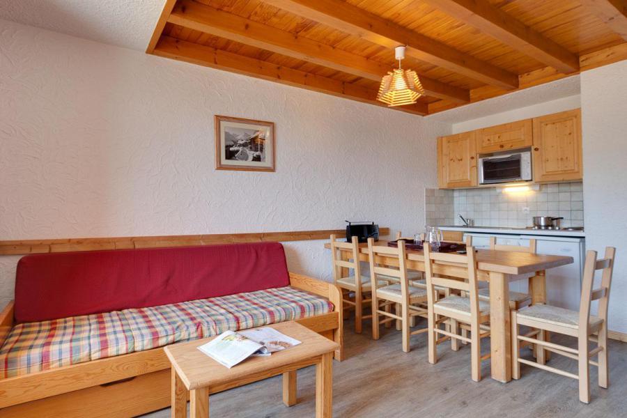 Location au ski Appartement duplex 3 pièces coin montagne 8 personnes - Résidence Meijotel - Les 2 Alpes - Canapé