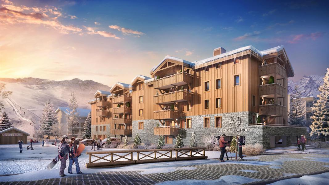 Location au ski Résidence Neige et Soleil - Les 2 Alpes - Extérieur hiver