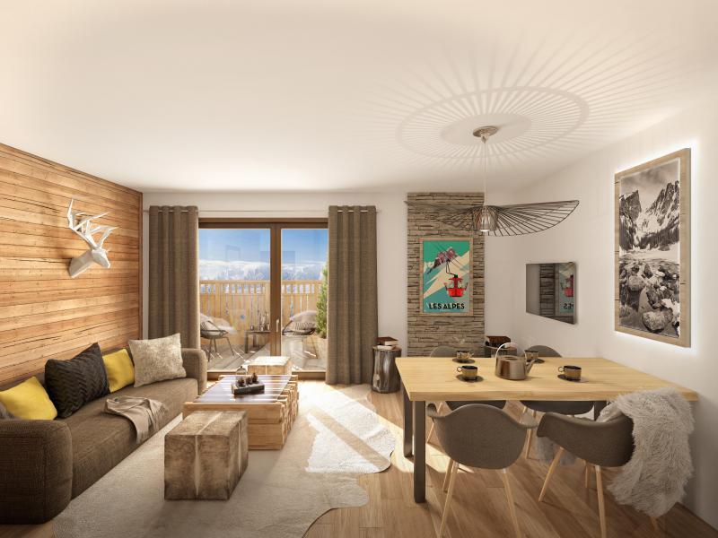 Location au ski Résidence Neige et Soleil - Les 2 Alpes - Séjour