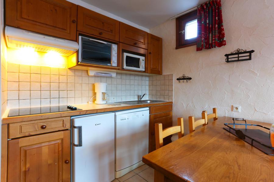 Rent in ski resort 2 room apartment 6 people - Résidence Plein Sud - Les 2 Alpes - Kitchen
