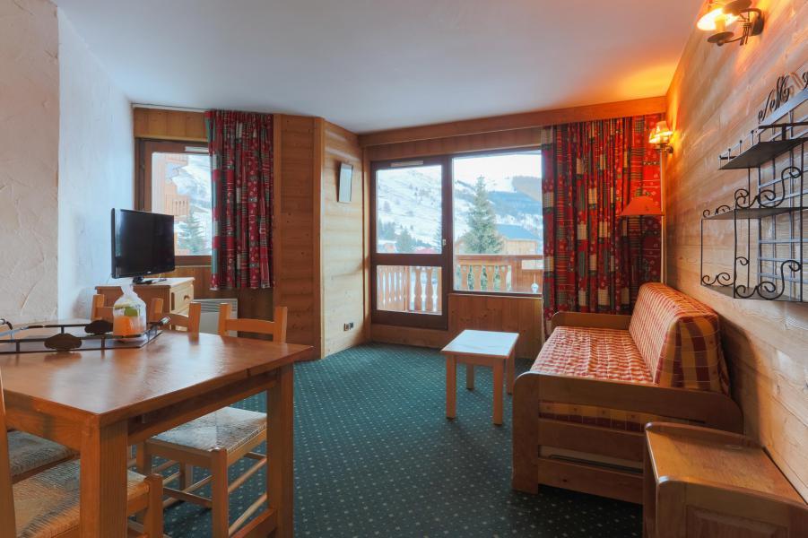 Rent in ski resort 2 room apartment 6 people - Résidence Plein Sud - Les 2 Alpes - Living room