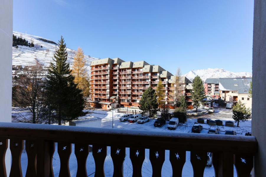 Rent in ski resort Studio 2 people - Résidence Plein Sud - Les 2 Alpes - Winter outside
