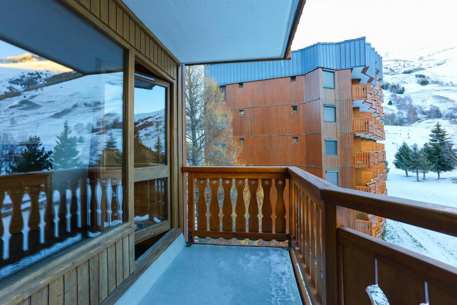 Location au ski Studio 2 personnes - Résidence Plein Sud - Les 2 Alpes - Balcon