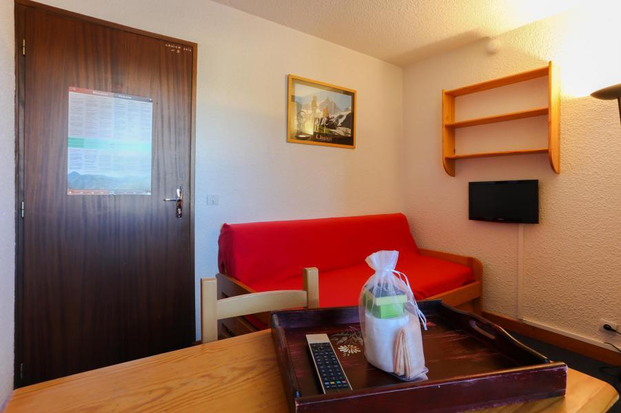 Rent in ski resort Studio sleeping corner 4 people - Résidence Plein Sud - Les 2 Alpes - Bench seat