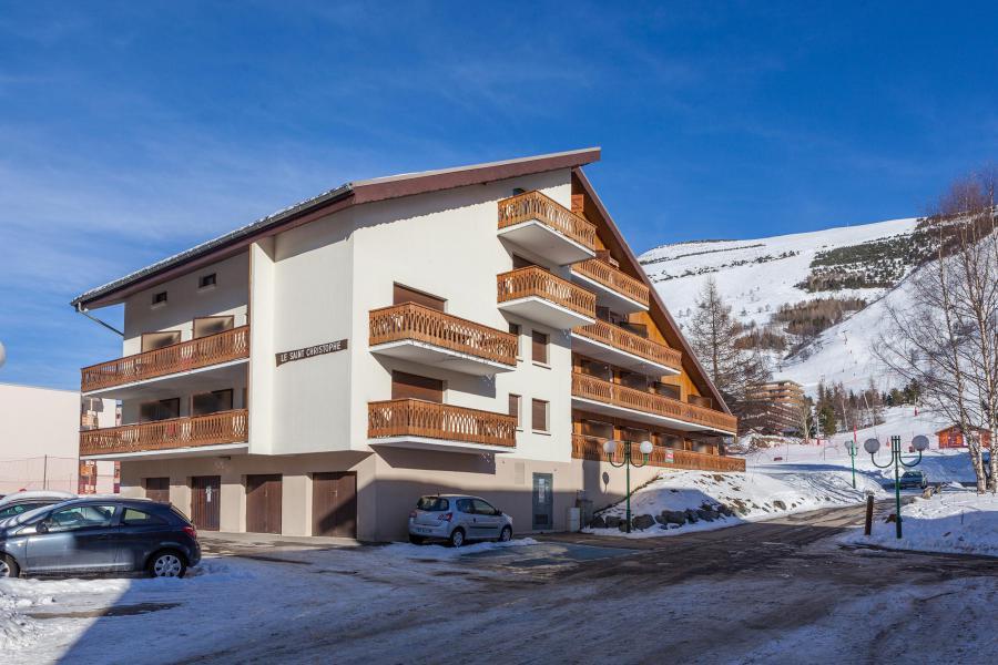 Location au ski Résidence Saint Christophe - Les 2 Alpes - Extérieur hiver