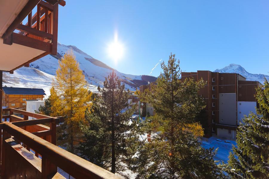 Location au ski Studio coin montagne 4 personnes - Résidence Tyrol - Les 2 Alpes - Balcon
