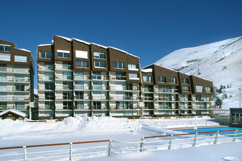 Location au ski Résidence Vallée Blanche - Les 2 Alpes - Extérieur hiver