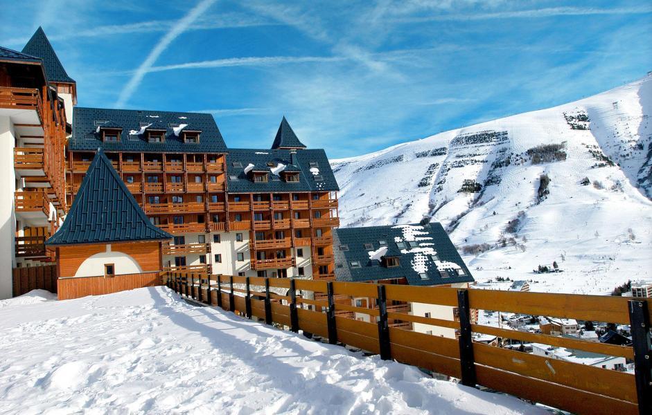 Location au ski Résidences Goelia les Balcons du Soleil - Les 2 Alpes - Extérieur hiver