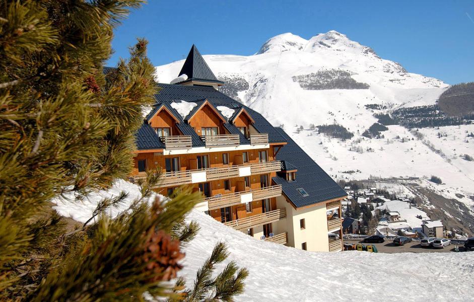 Location au ski Appartement 2 pièces 4 personnes (Prince des Ecrins) - Résidences Goelia les Balcons du Soleil - Les 2 Alpes - Extérieur hiver