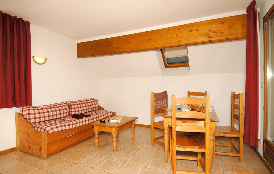 Wynajem na narty Apartament 2 pokojowy 4 osób (Prince des Ecrins) - Résidences Goelia les Balcons du Soleil - Les 2 Alpes - Jadalnia